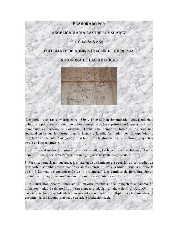ELABORADO POR                   ANGELICA MARIA CASTRILLON SUAREZ                                    C.C.43.828.558        ...