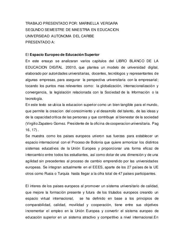 TRABAJO PRESENTADO POR: MARINELLA VERGARA SEGUNDO SEMESTRE DE MAESTRIA EN EDUCACION UNIVERSIDAD AUTONOMA DEL CARIBE PRESEN...