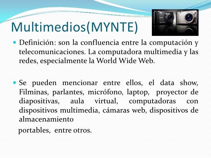 Ensayo multimedios mynte - Definicion de multimedia ...