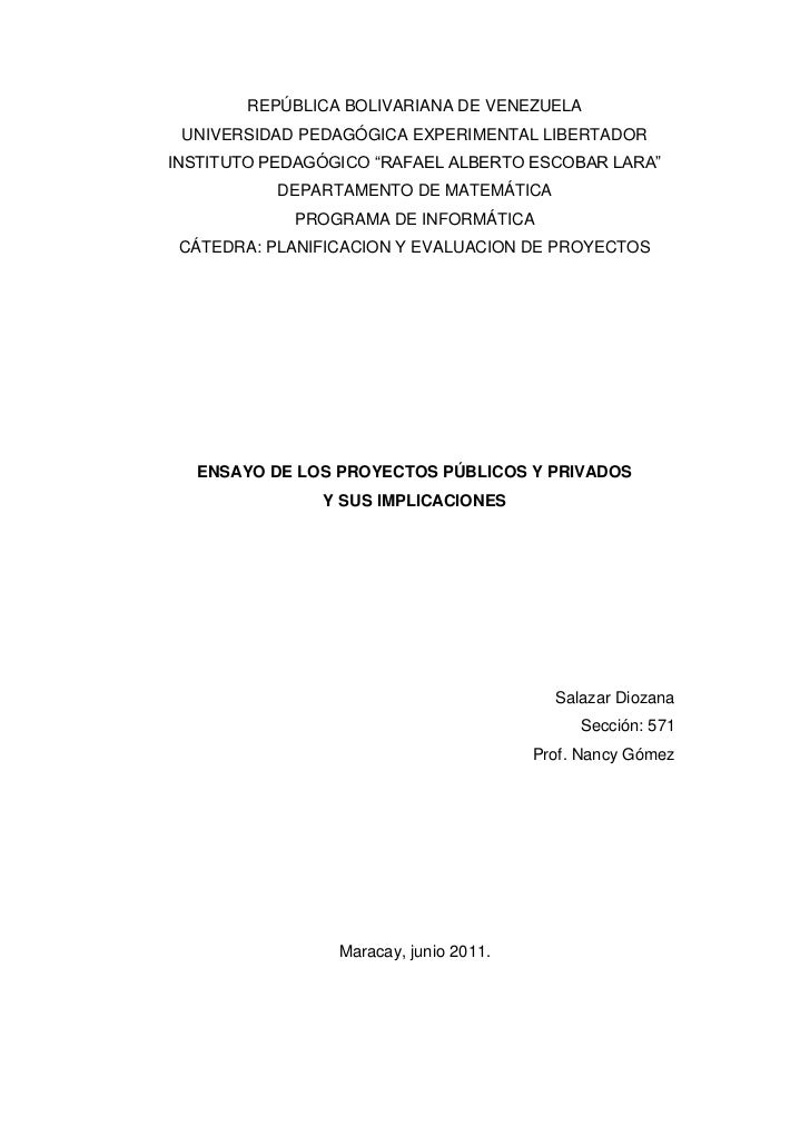 "REPÚBLICA BOLIVARIANA DE VENEZUELA<br />UNIVERSIDAD PEDAGÓGICA EXPERIMENTAL LIBERTADOR<br />INSTITUTO PEDAGÓGICO ""RAFAEL A..."