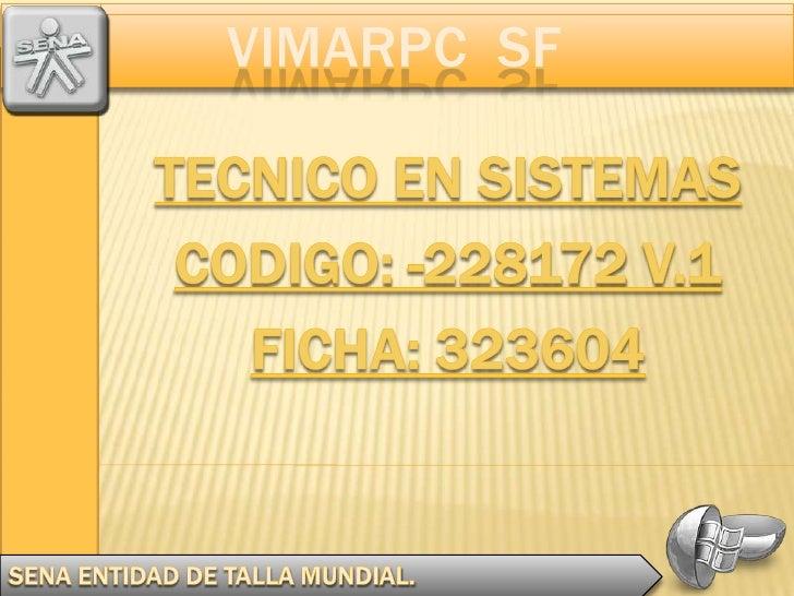 VIMARPC SF