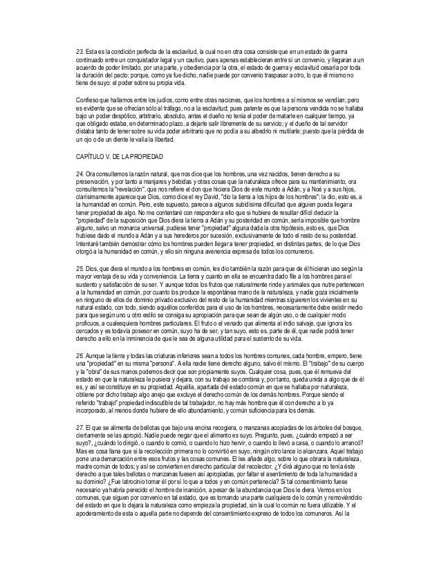 ensayo sobre el gobierno civil locke