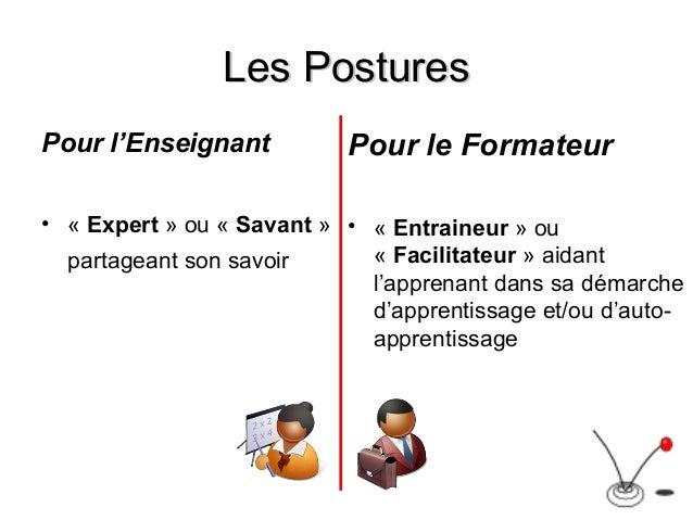 enseignant vs formateur