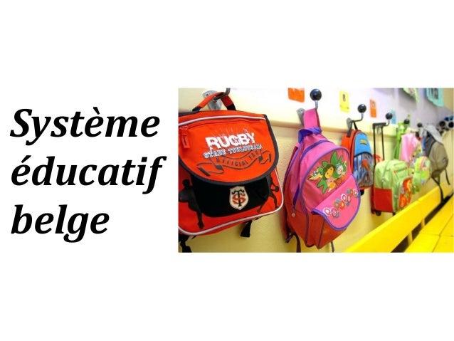Système éducatif belge