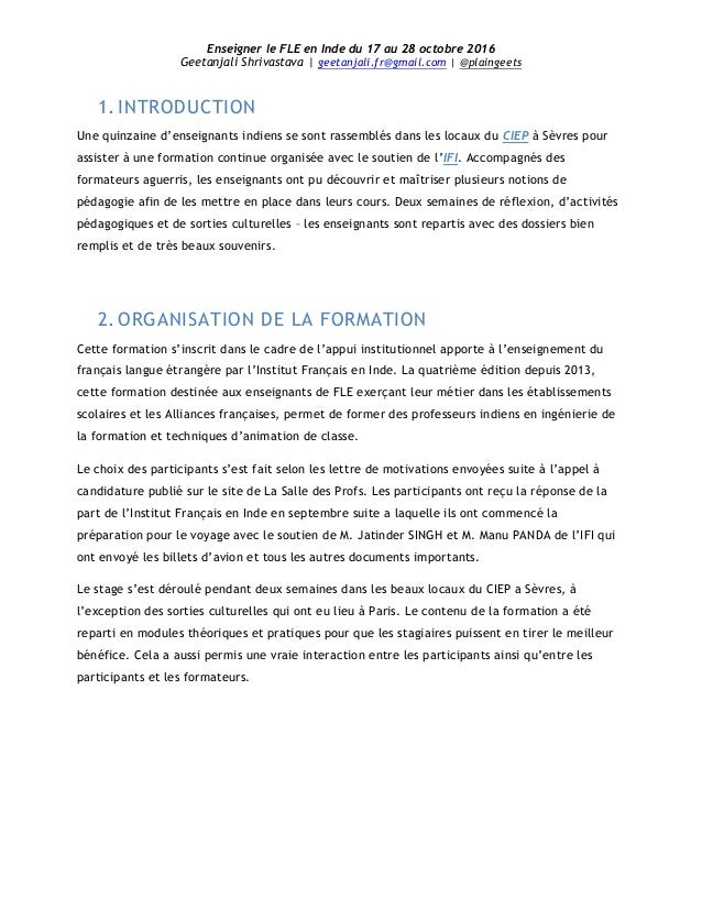 lettre de motivation stage fle qn88