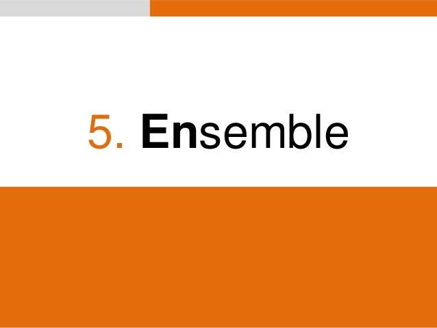 5. Ensemble  www.bebooda.org