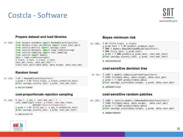 Costcla - Software 31