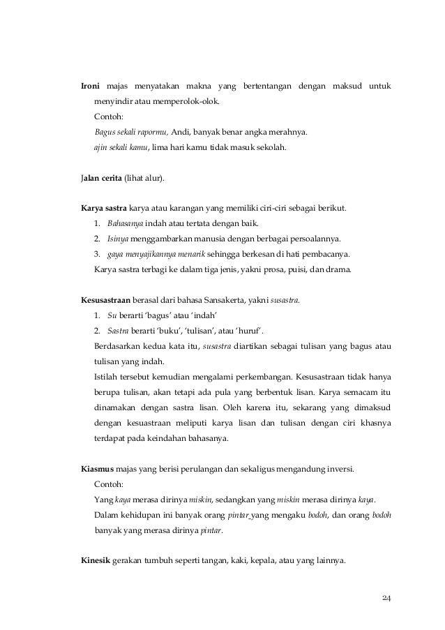 Ensiklopedia Sastra Indonesia Sd Smp