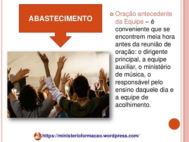    Oração antecedenteABASTECIMENTO                     da Equipe – é                                  conveniente que se ...
