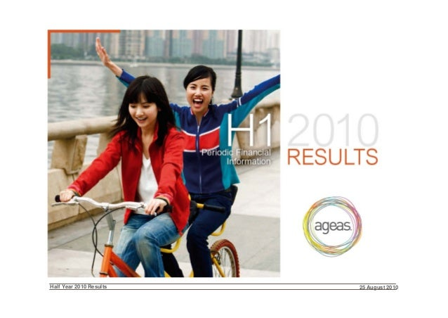 Half Year 2010 Results 25 August 2010