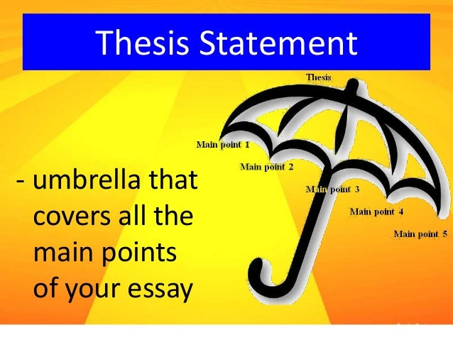 ensp703 thesis statement