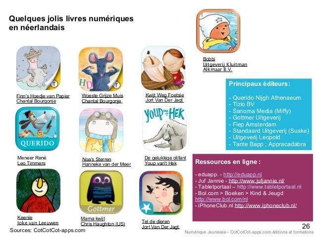 Quelques jolis livres numériques en néerlandais Finn's Hoedje van Papier Chantal Bourgonje Sources: CotCotCot-apps.com Men...