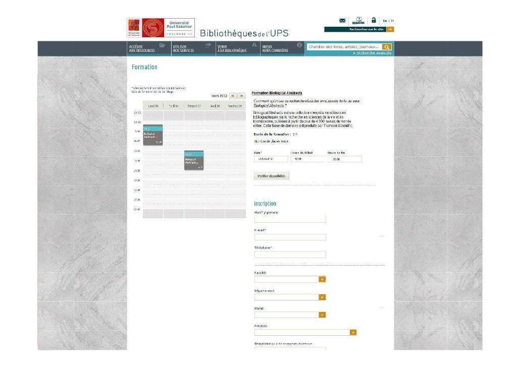 03/04/2012   Les aspects techniques de l'intégration des ressources   26                     numériques dans l'offre docum...