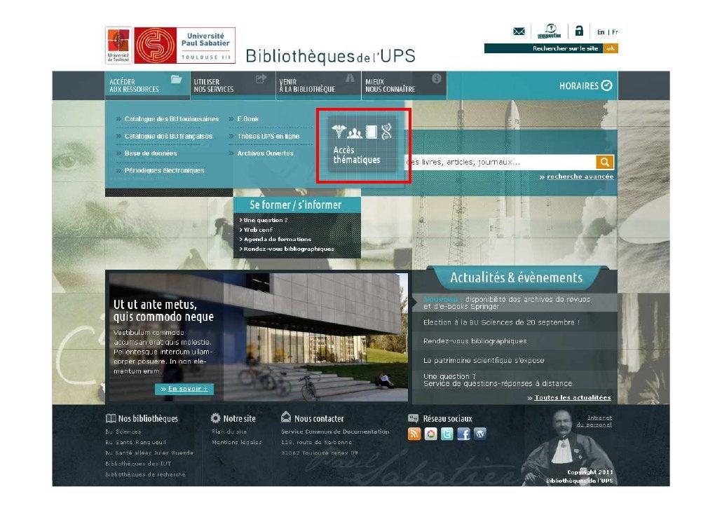 28/03/2012   Les aspects techniques de l'intégration des ressources   8                     numériques dans l'offre docume...