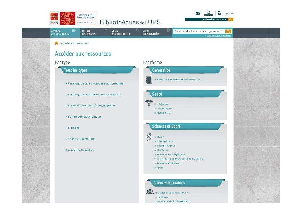 03/04/2012   Les aspects techniques de l'intégration des ressources   9                     numériques dans l'offre docume...