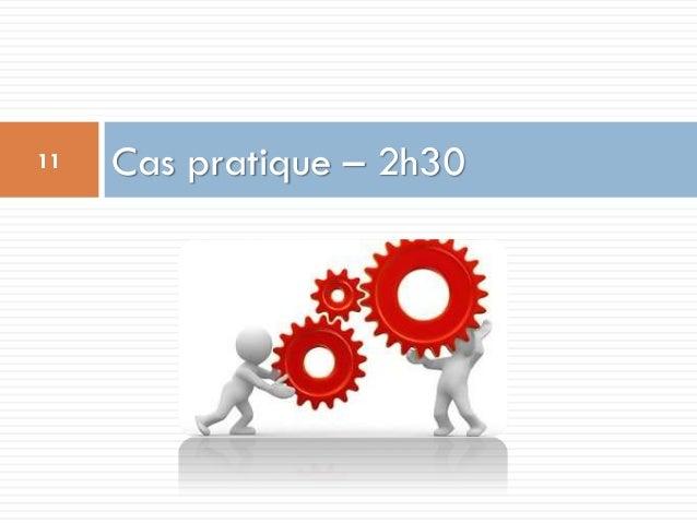 Cas pratique – 2h3011
