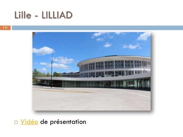 Lille - LILLIAD 111  Vidéo de présentation