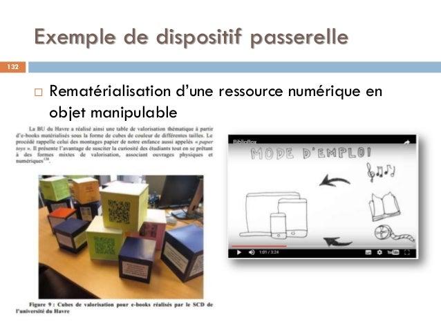 Exemple de dispositif passerelle  Rematérialisation d'une ressource numérique en objet manipulable 132
