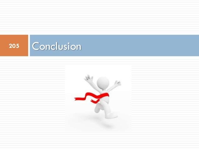 Conclusion205