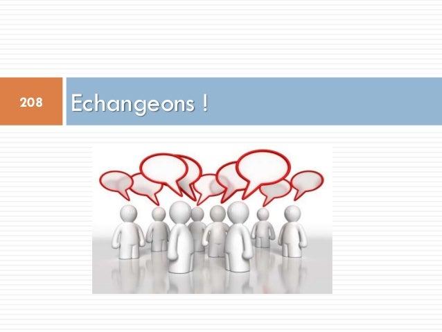 Echangeons !208