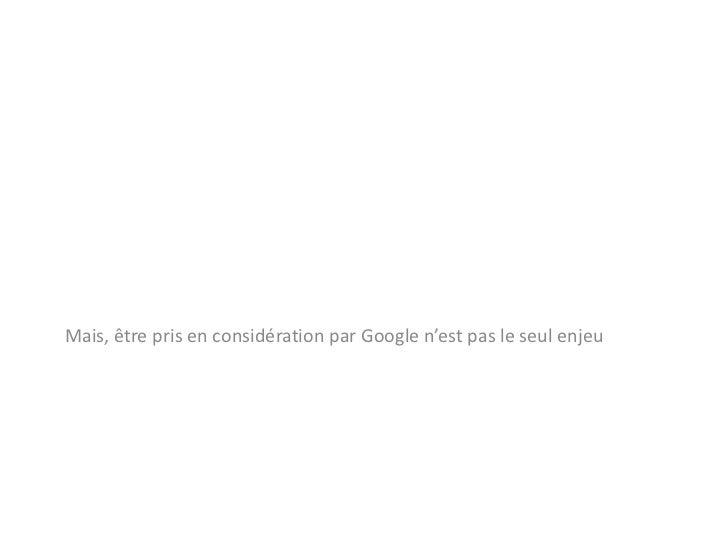 Google ne comprend que ses propres vocabulaires de métadonnées ?<br />