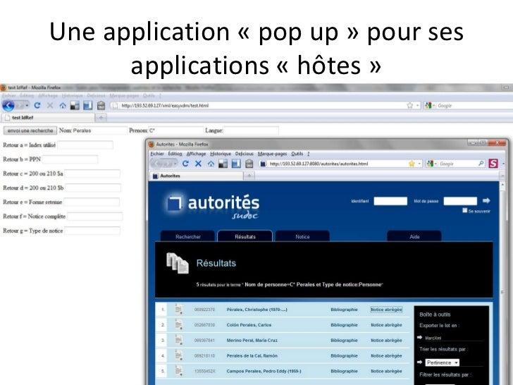 Linked data IST.fr ?<br />?<br />theses.fr<br />Sudoc<br />Thèses soutenues<br />et<br />Thèses en cours ( 2011)<br />Auto...