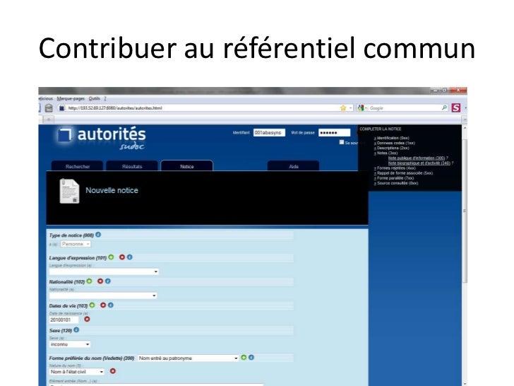 Authentification, habilitation et données liées<br />Problème : <br />dans theses.fr, on veut associer des droits spécifiq...