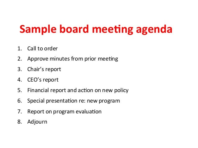Ensuring Effective Nonprofit Board Meetings (Because That's When Gove…