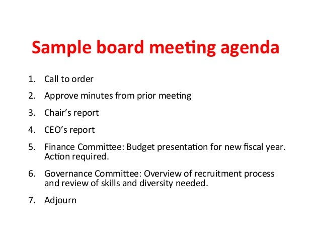 Nonprofit Board Meeting Minutes Template from image.slidesharecdn.com