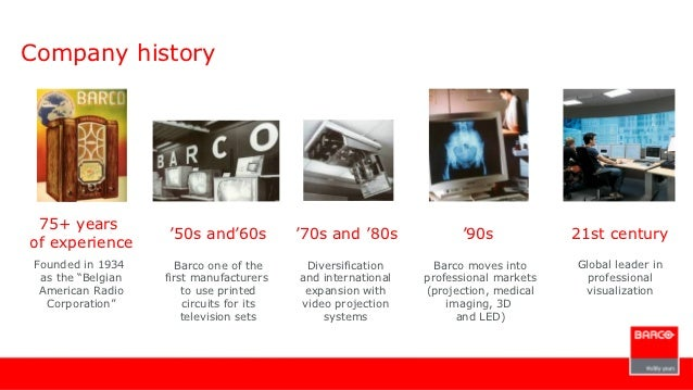 Barco Projection System :: Case Study, Analysis, Niche ...