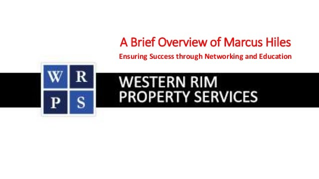 A Brief Overview of Marcus Hiles Ensuring Success through Networking and Education