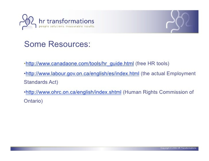 www.canadaone.com tools hr guide
