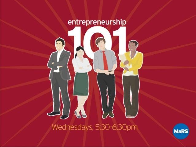 INTRODUCTIONTOTECHNOLOGY MARKETING Entrepreneurship 101 - Jon E Worren