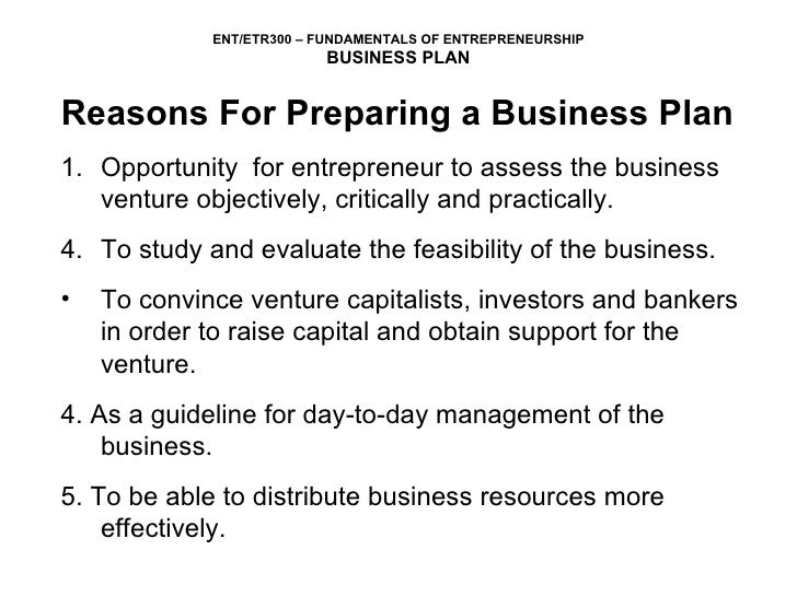 4 Reasons Why A Business Plan Is Important