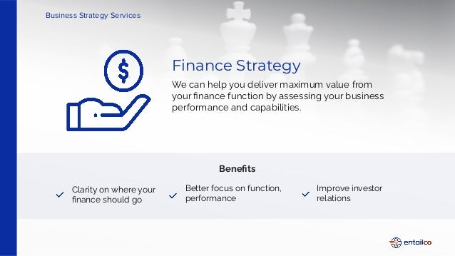 Enhance your business strategies from the experts   Entailco Business Strategy Services Slide 3