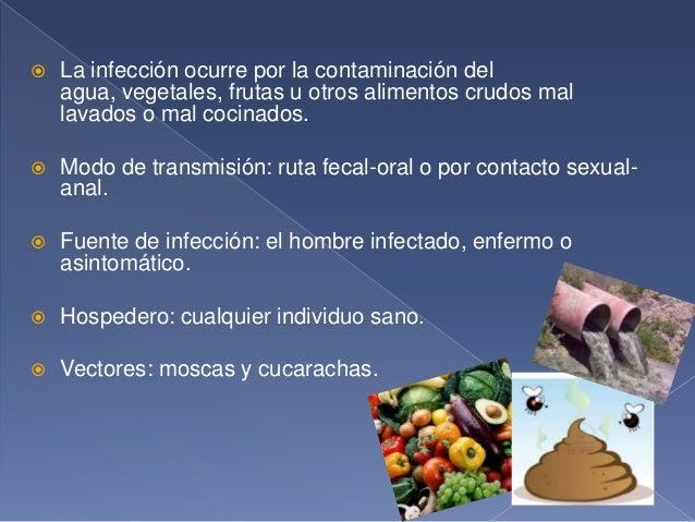 Lesiones causadas por Entamoeba Histolytica