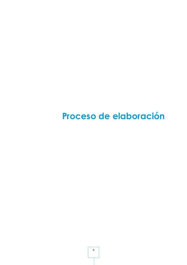 8 Proceso de elaboración