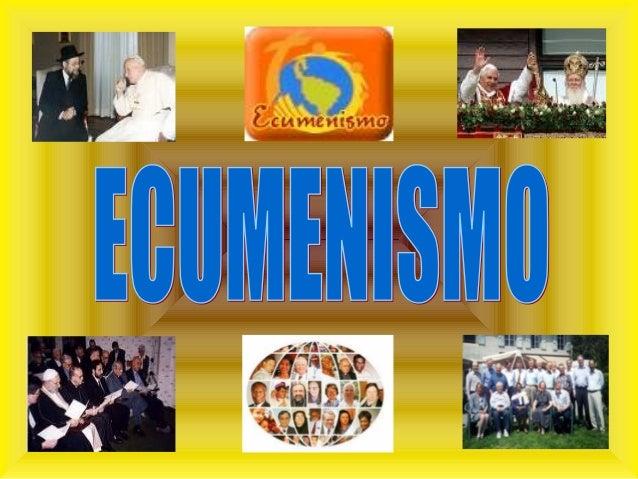 Este artigo é o resultado de uma pesquisa na Internet sobre o tema: ECUMENISMOECUMENISMO Os documentos aqui contidos foram...