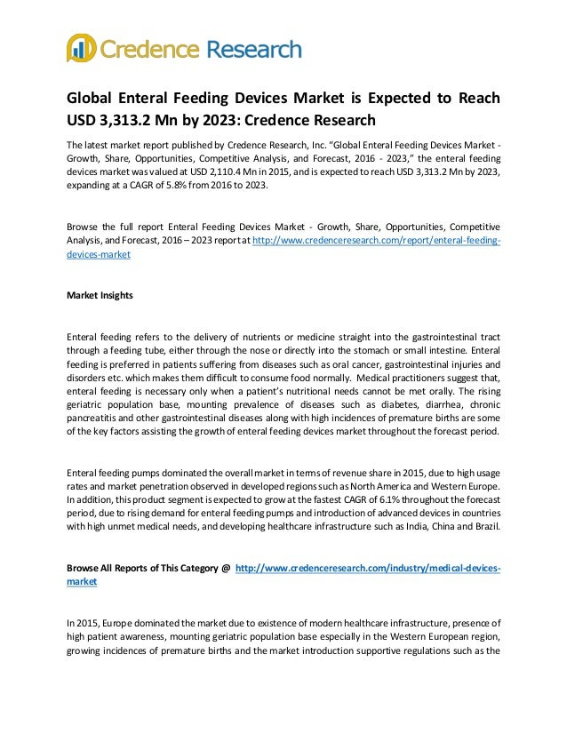 global enteral feeding devices to 2014 The global enteral device supplier association (gedsa), a nonprofit trade association, provides guidance documents on enfit adoption gedsa's stay connected website describes the new connectors and provides tools for transitioning to devices equipped with them.