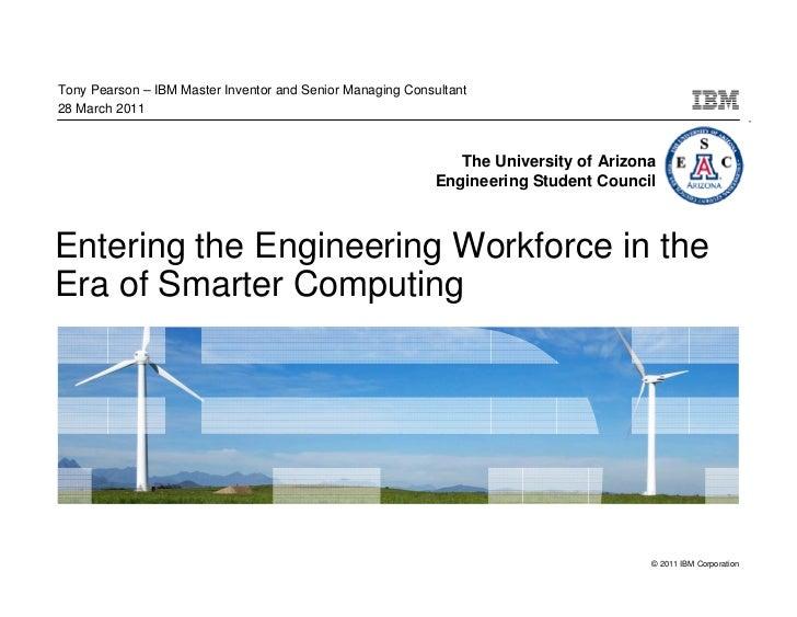 Tony Pearson – IBM Master Inventor and Senior Managing Consultant28 March 2011                                            ...