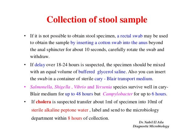 87 How Do I Store A Stool Sample Collection And
