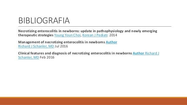 Enterocolitis necrosante  Enterocolitis n...