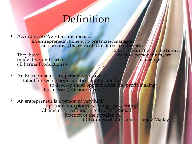 Enterpreneur Slide 3