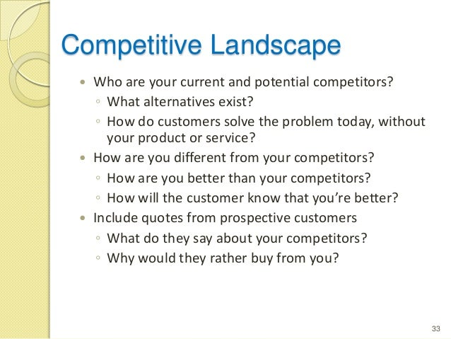 competitor data collection plan example