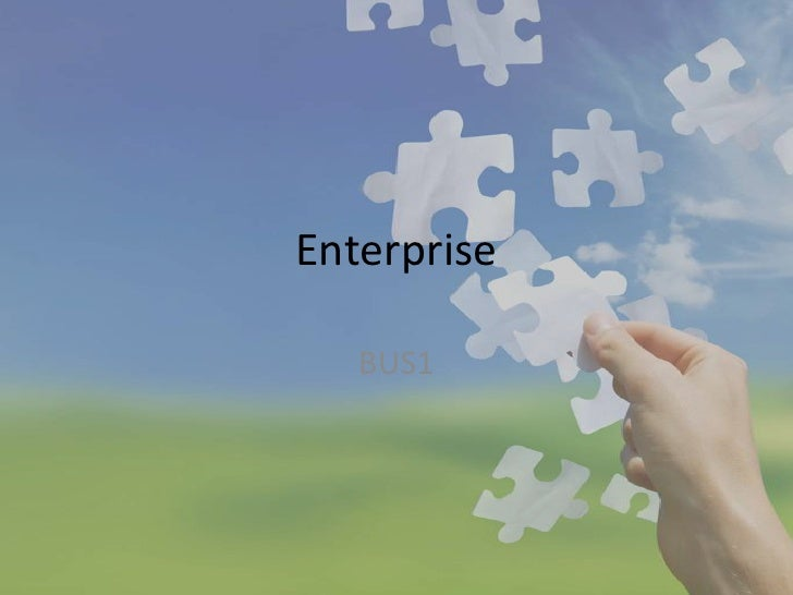 Enterprise   BUS1