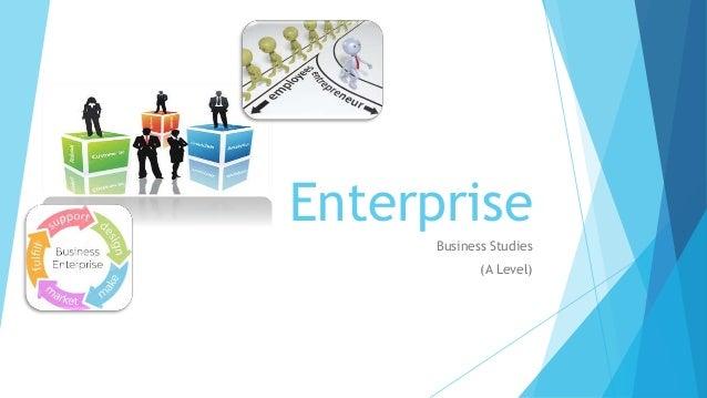 Enterprise Business Studies (A Level)