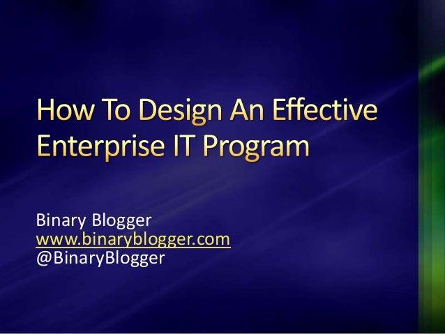 Binary Bloggerwww.binaryblogger.com@BinaryBlogger