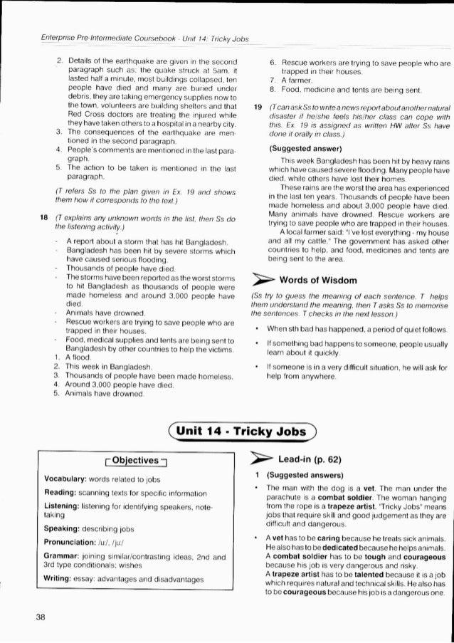 Enterprise 3 teacher's book