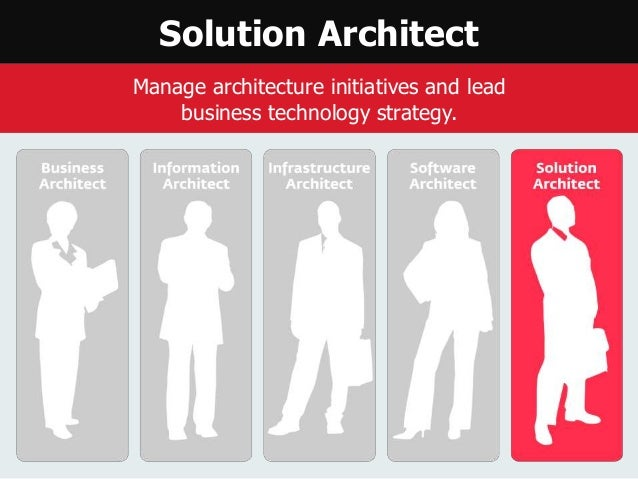 Enterprise architecture career path for How to be an architect