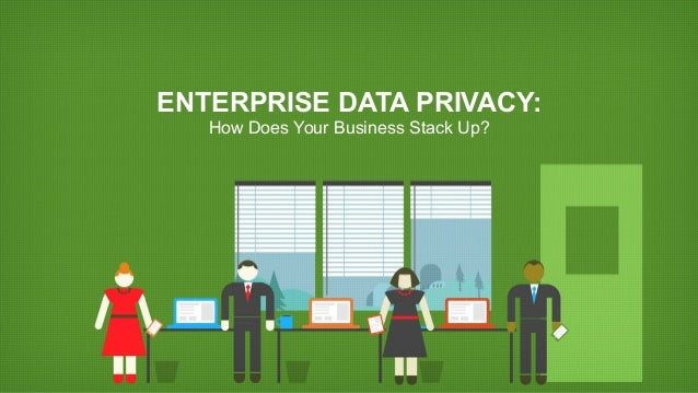 ENTERPRISE DATA PRIVACY: How Does Your Business Stack Up?